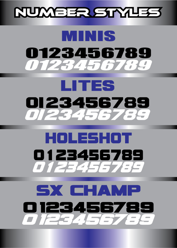 Number Styles that we offer if you are looking for a special fontNumber Font Styles
